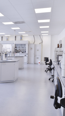 ESD vloeren in productieruimtes, laboratoria en cleanrooms